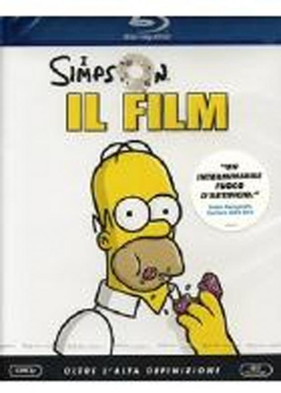 La Copertina Di I Simpson Il Film Blu Ray 94003