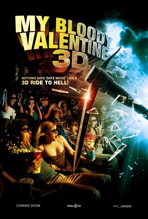 Nuoco Poster Per My Bloody Valentine 3 D 93928