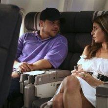 Jerry Ferrara e Jamie-Lynn Sigler nell'episodio First Class Jerk di Entourage