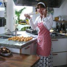 Maria Amelia Monti in una scena del film tv Finalmente a casa