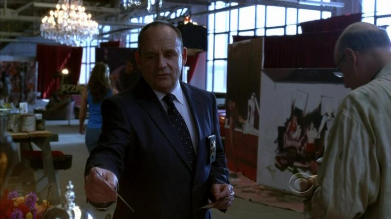 Paul Guilfoyle In Una Scena Dell Episodio Art Imitates Life Della Serie Tv Csi 94067