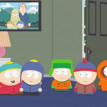 Un'immagine dell'episodio Pandemic di South Park