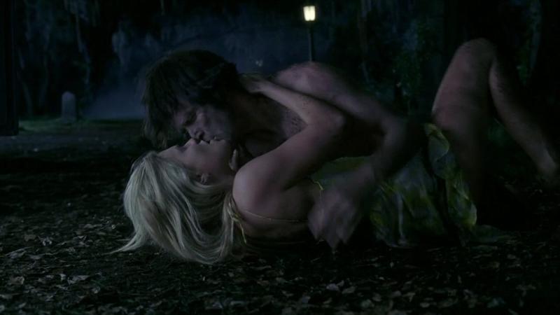 Anna Paquin E Stephen Moyer In Una Scena Dell Episodio The Fourth Man In The Fire Di True Blood 94170
