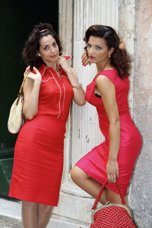 Donatella Finocchiaro E Tosca D Aquino In Una Foto Promozionale Del Film Amore Che Vieni Amore Che Vai 94156