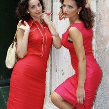 Donatella Finocchiaro e Tosca D'Aquino in una foto promozionale del film Amore che vieni, amore che vai