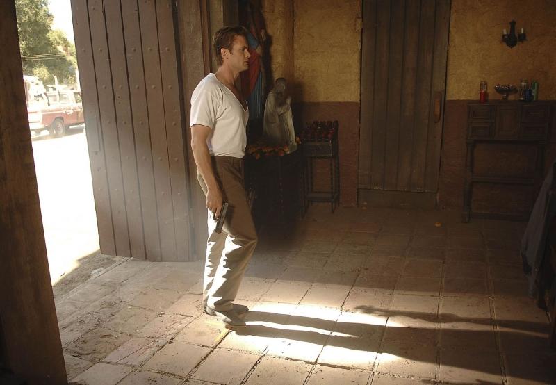 Garret Dillahunt In Una Scena Dell Episodio Mr Ferguson Is Ill Today Di The Sarah Connor Chronicles 94210