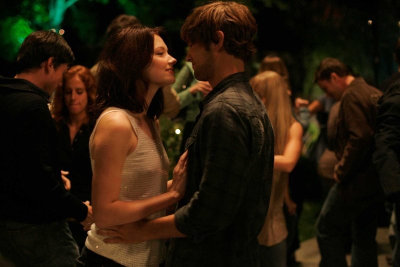 Haley Bennett E Chace Crawford In Una Scena Del Film The Haunting Of Molly Hartley 94192