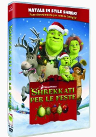 La Copertina Di Shrekkati Per Le Feste Dvd 94164