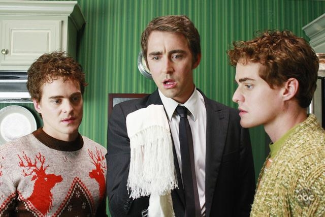 Alex Miller Graham Miller E Lee Pace Nell Episodio Oh Oh Oh It S Magic Della Serie Tv Pushing Daisies 94289