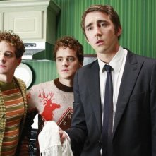 Alex Miller, Graham Miller insieme a  Lee Pace nell'episodio 'Oh Oh Oh It's Magic' della serie tv Pushing Daisies