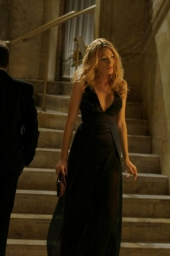 Blake Lively nel ruolo di Serena  in una scena dell'episodio 'There might be blood' della serie tv Gossip Girl
