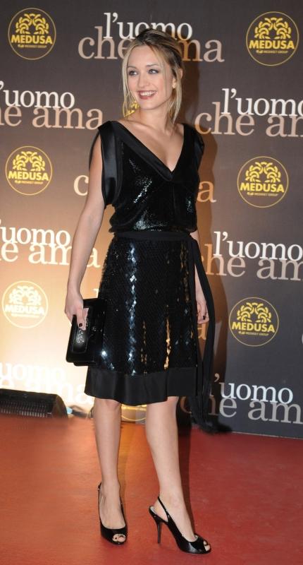 Carolina Crescentini Vestita Da Gucci Al Festival Di Roma 2008 94337