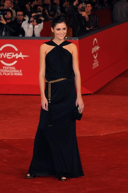 Chiara Chiti Protagonista Di Un Gioco Da Ragazze Presentato Al Festival Del Film Di Roma 2008 Ha Scelto Di Indossare Gucci Per L Evento 94375