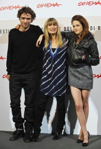 Festival di Roma 2008: Catherine Hardwicke presenta Twilight con i due protagonisti del film: il 'vampiro' Robert Pattinson e Kristen Stewart