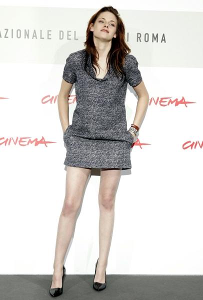 Festival Di Roma 2008 Kristen Stewart E La Protagonista Del Film Twilight Tratto Dal Romanzo Di Stephenie Meyer 94367