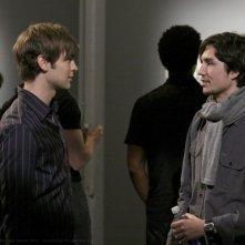 John Patrick Amedori con un collega nell'episodio 'Pret-a-Poor-Jenny' della serie tv Gossip Girl