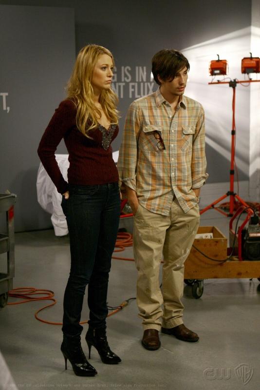 John Patrick Amedori E Blake Lively In Una Scena Dell Episodio Pret A Poor Jenny Della Serie Tv Gossip Girl 94394