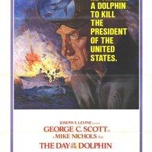 La locandina di Il giorno del delfino