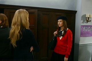 Leighton Meester interpreta Blair nell'episodio 'Bonfire of the Vanity' della seconda stagione di Gossip Girl