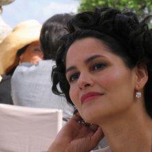 Mandala Tayde in una scena dell'episodio La pista di sabbia de Il Commissario Montalbano
