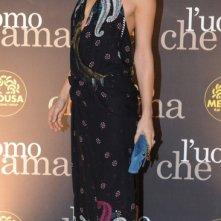 Myriam Catania al Festival di Roma 2008. L'attrice indossa un abito di Gucci