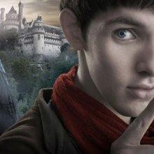 Un'immagine promozionale della serie inglese Merlin