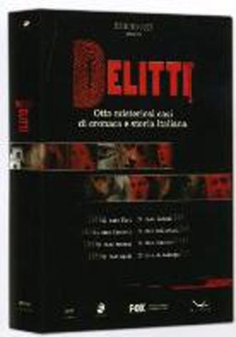 La Copertina Di Delitti Cofanetto 8 Dvd Dvd 94480