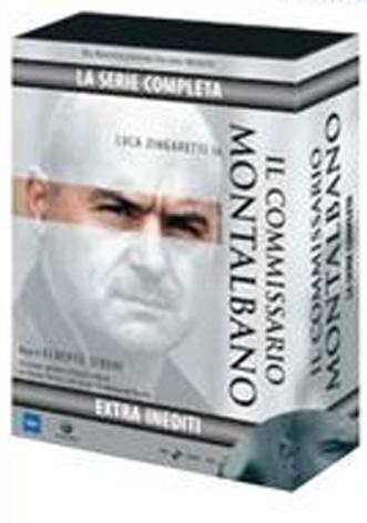 La Copertina Di Montalbano La Serie Completa Cofanetto 15 Dvd Dvd 94489