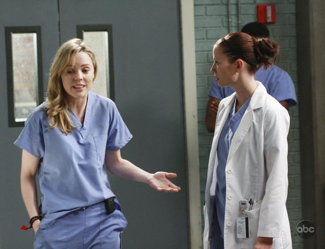 Chyler Leigh E Melissa George Nell Episodio These Ties That Bind Della Serie Televisiva Grey S Anatomy 94695