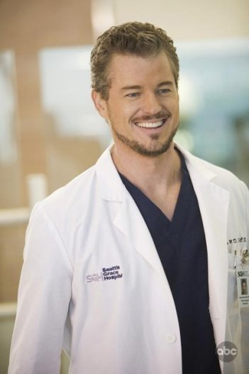 Eric Dane in una sequenza dell'episodio 'These Ties That Bind' della serie tv Grey's Anatomy