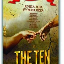 La copertina di The Ten - I dieci comandamenti come non li avete mai visti (dvd)
