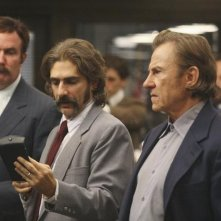 Michael Imperioli con Harvey Keitel nell'episodio 'Things to Do in New York When You Think You're Dead' della serie Life On Mars