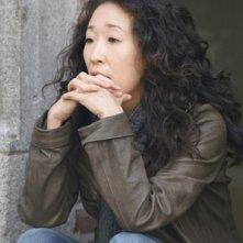 Sandra Oh interpreta Cristina Yang, nella quinta stagione della serie tv Grey's Anatomy