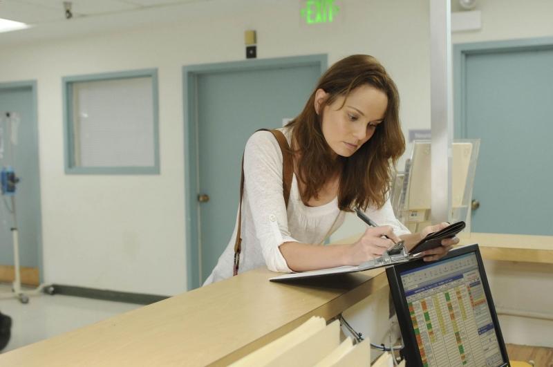Sarah Wayne Callies In Una Scena Dell Episodio The Legend Della Serie Tv Prison Break 94677