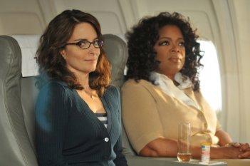 Tina Fey e Oprah Winfrey nell'episodio 'Believe in the Stars' della terza stagione di 30 Rock