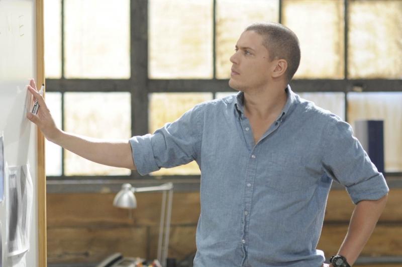 Wentworth Miller In Una Scena Dell Episodio The Legend Della Serie Tv Prison Break 94675