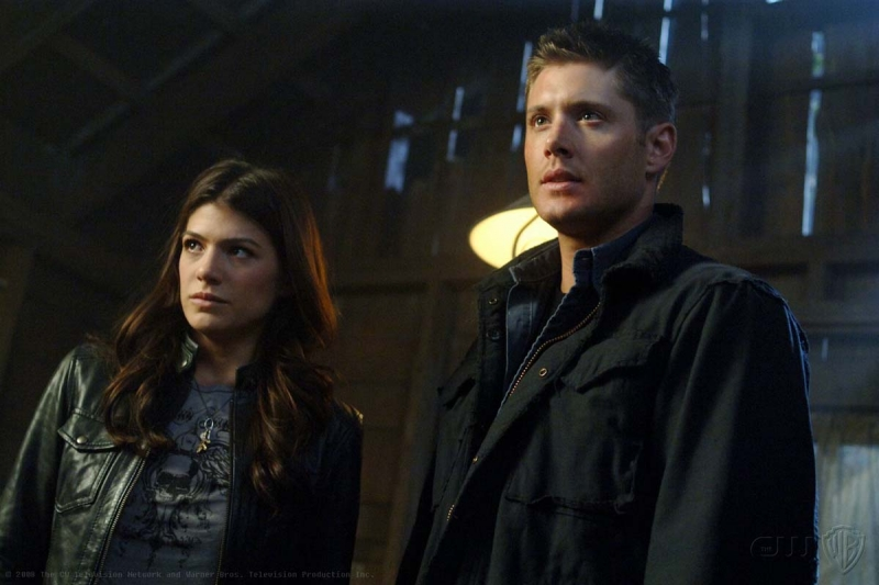 Genevieve Cortese E Jensen Ackles Nell Episodio I Know What You Did Last Summer Di Supernatural 94823