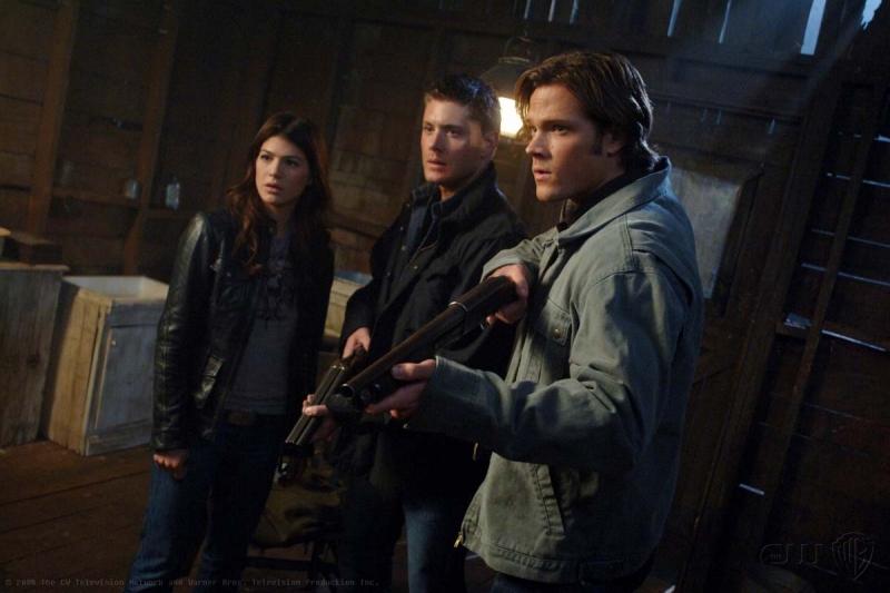 Genevieve Cortese Jensen Ackles E Jared Padalecki In Una Scena Dell Episodio I Know What You Did Last Summer Di Supernatural 94820
