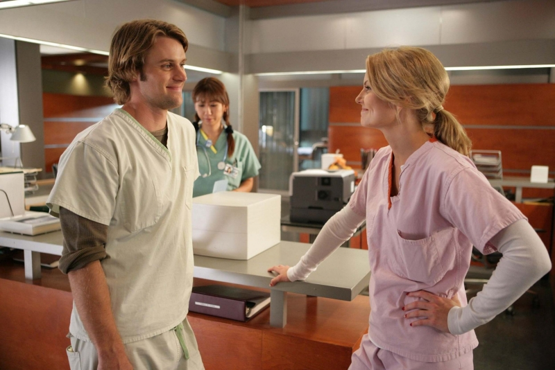 Jennifer Morrison E Jesse Spencer In Una Scena Dell Episodio Emancipation Di Dr House Medical Division 94878