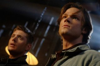 Jensen Ackles e Jared Padalecki nell'episodio I Know What You Did Last Summer di Supernatural