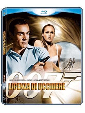 La Copertina Di 007 Licenza Di Uccidere Blu Ray 94780