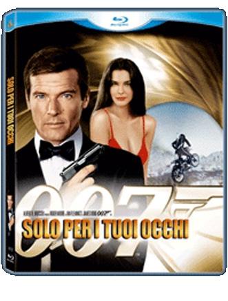 La Copertina Di 007 Solo Per I Tuoi Occhi Blu Ray 94779