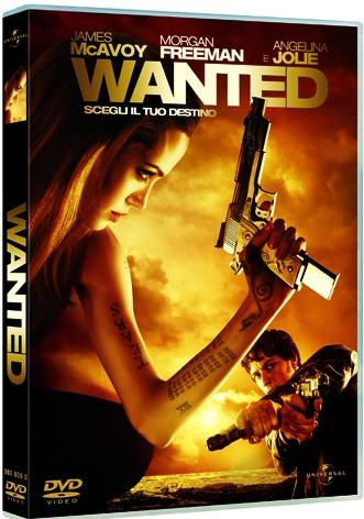 La Copertina Di Wanted Scegli Il Tuo Destino Dvd 94882