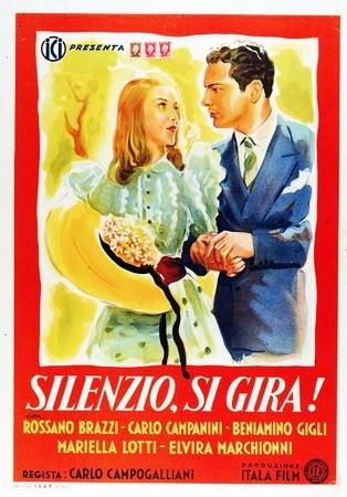 La Locandina Di Silenzio Si Gira 94893