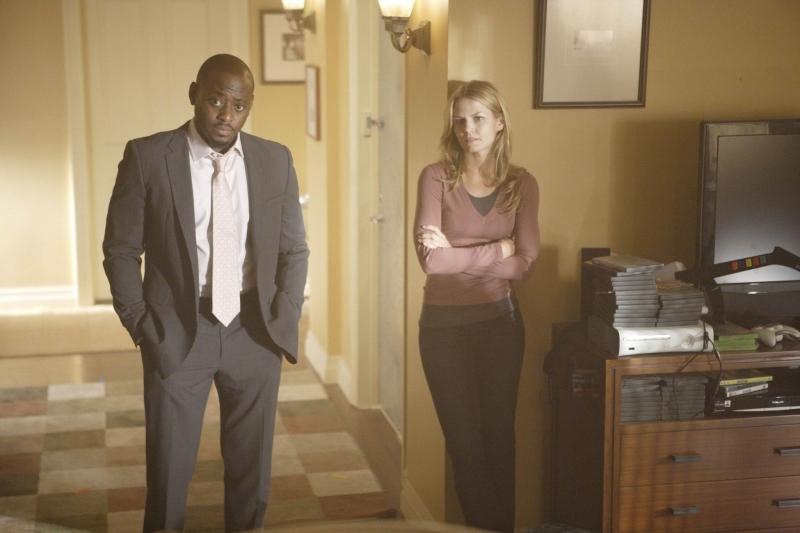 Omar Epps E Jennifer Morrison In Una Scena Dell Episodio The Itch Di Dr House Medical Division 94875