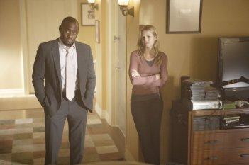 Omar Epps e Jennifer Morrison in una scena dell'episodio The Itch di Dr.House: Medical Division