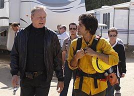 Stellan Skarsgard E Adrian Grenier In Una Scena Dell Episodio Pie Di Entourage 94770