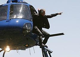 Stellan Skarsgård in una scena dell'episodio 'Pie' di Entourage