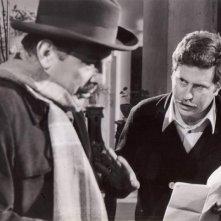 Vittorio Salerno con il fratello Enrico Maria sul set di 'Fango Bollente'