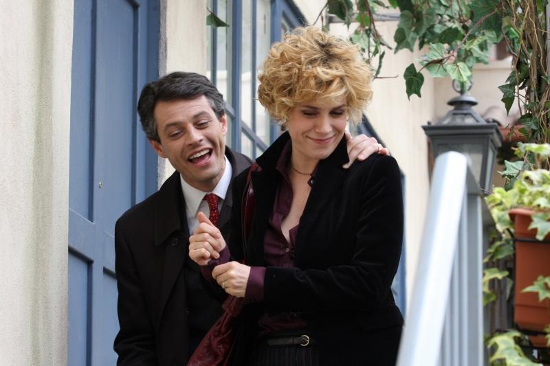 Cecilia Dazzi Con Stefano Pesce In Una Scena Della Serie Televisiva Amiche Mie 94965
